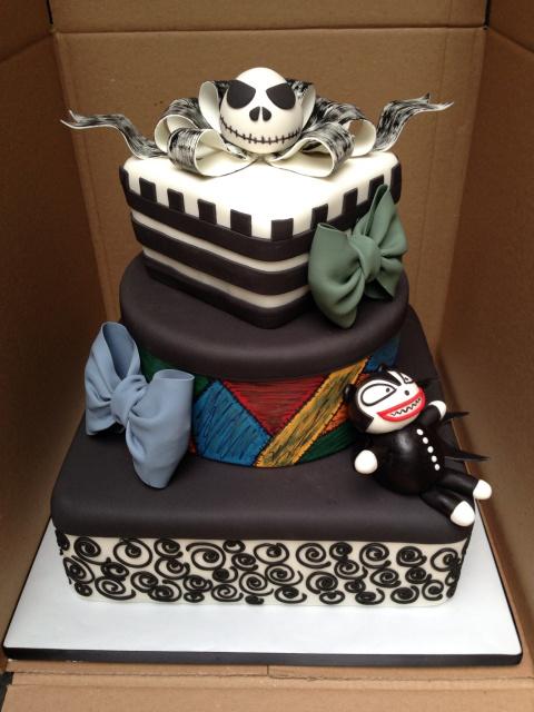 Jack And Sally Smash Cake
